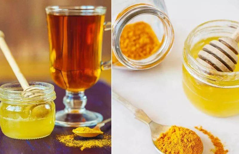 мед с куркумой для груди